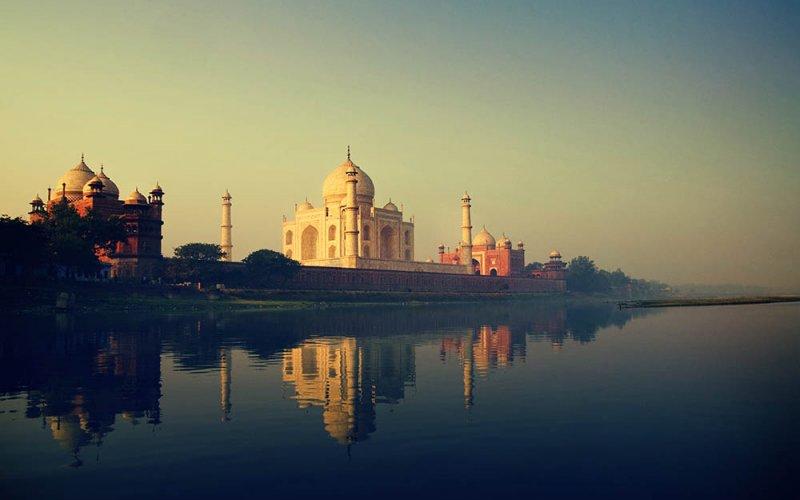 Taj Mahal - een van de nieuwe wereldwonderen